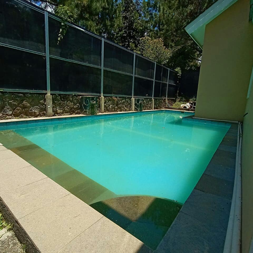 Sewa Villa Kota Bunga DD3 22, Villa Private Pool di Puncak Cipanas Bogor