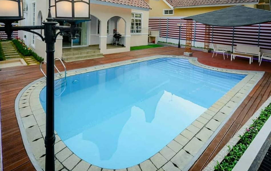 Villa Alhawa A Kota Bunga yang Mewah nan Elegan, Cocok Untuk menemani Liburan Anda di Puncak
